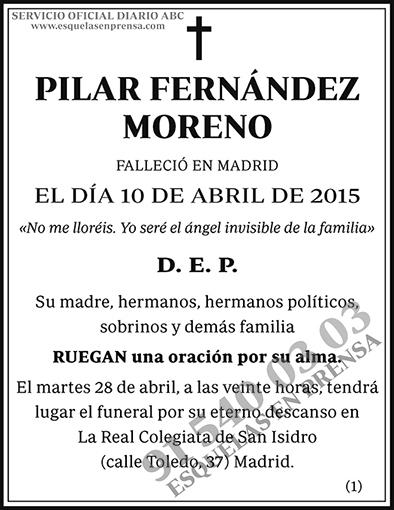 Pilar Fernández Moreno